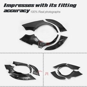 Car-styling EPA Style Fiberglass Rear Fender 4pcs +65mm FRP Fiber Glass Wheel Flare Arch Kit For Lexus 98-05 IS200 Altezza XE1