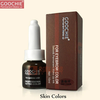 Permanent Makeup Pigment For Tattoo Eyebrow Eyebrow Pigment Eyeliner Cosmetic Inks Skin Colors And Brown Coffee