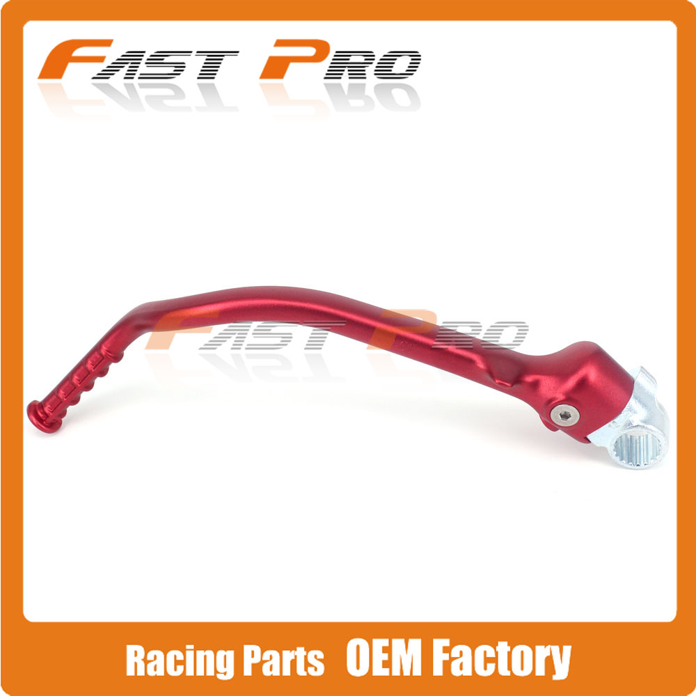 Forged Kick Start Starter Lever Pedal For Honda CRF450R CRF 450R 2012-2016 Motocross Dirt Bike Off Road Motorcycle for honda crf 250r 450r 2004 2006 crf 250x 450x 2004 2015 red motorcycle dirt bike off road cnc pivot brake clutch lever