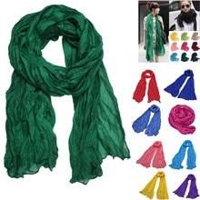 Popular womens solid scarfves Women Point Printing Scarf Fashion Retro Female Multipurpose Shawl Echarpe Femme