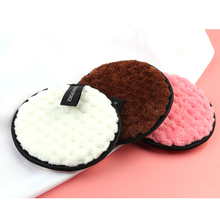1pcs Microfiber Cloth Pads Face Makeup Remover Puff Cleansing Towel Reusable Cotton Soft Sponge Nail Art Cleaning Wipe