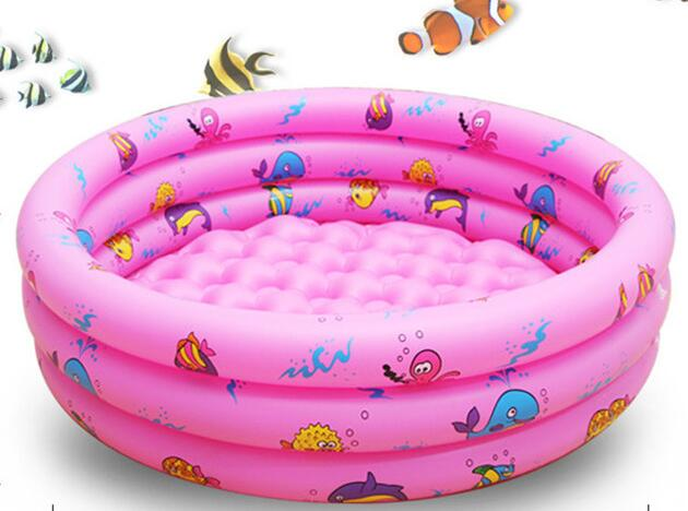 110x30 Trinuclear Inflatable Pool Baby Swimming Pool Portable Outdoor Children Basin Bat ...