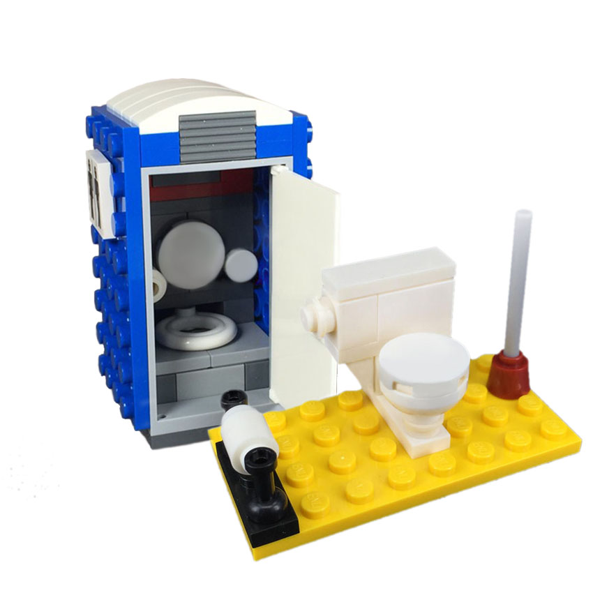 Toilet Bathroom Wc Building Blocks