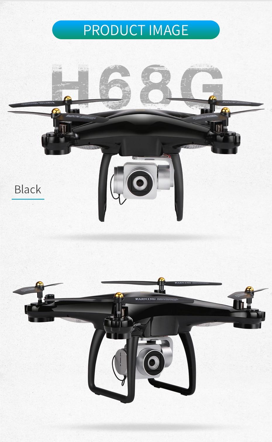 19 Drone 5G Wifi VS H68 Camera 1080P HD