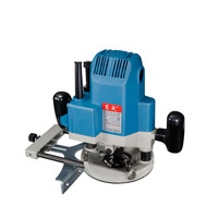 Electric Wood Milling Machine Woodworking Engraving Machine Large Power Slotted Trimming Machine 220V 1600W/1650W Power Tools