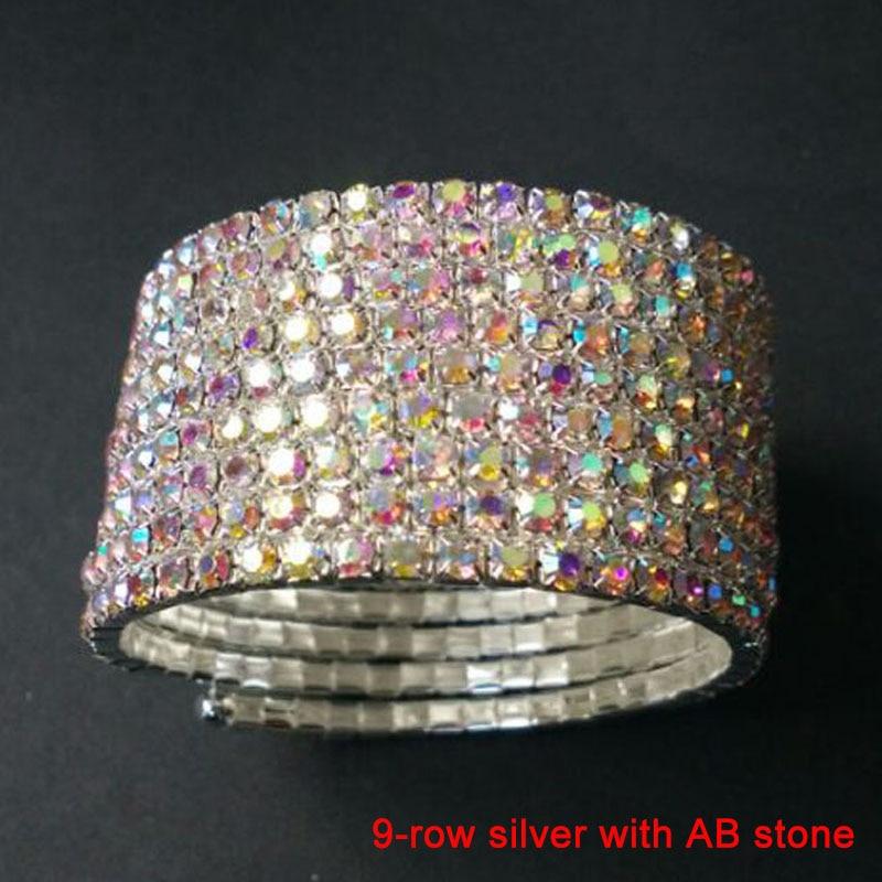 9 row silver AB