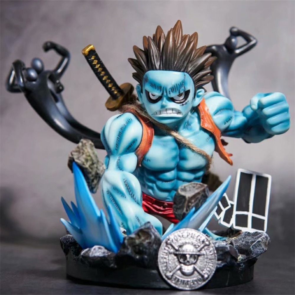 Anime One Piece GK Gear Fourth Monkey D Luffy Nightmare Luffy PVC Action Figure Collection Model Kids Toys Doll 23cm