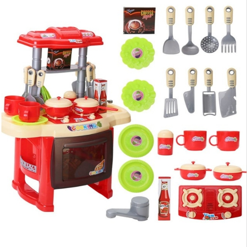 Simulated Children Plastic Toys Pretend Play Food Home Kitchen Kitchenware Girl Boys Cooking Toys 1 4 Year Birthday Gift in Kitchen Toys from Toys Hobbies