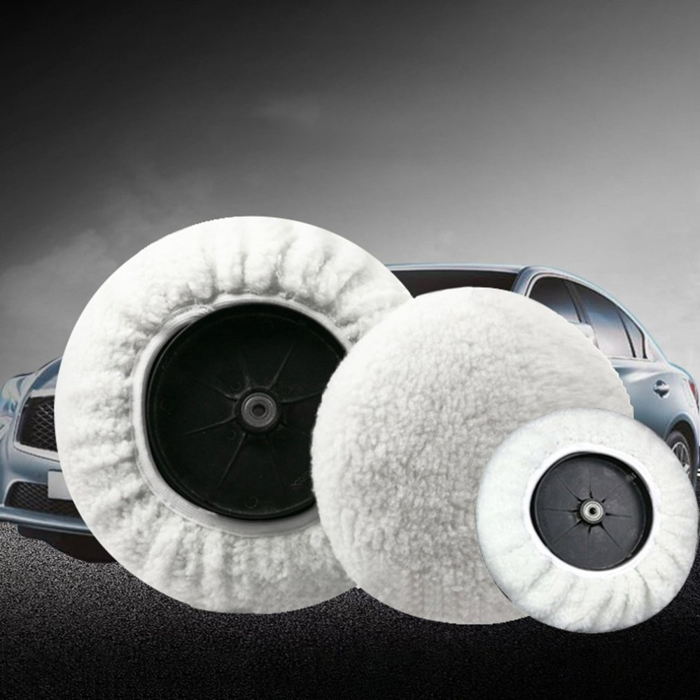 Universal Car Polisher Bonnet Polishing Pad Bonnet Buffing Pad Cover Soft wool for Car Polishing