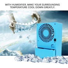 Practical Design Compact Size Personal Use Air Conditioner Air Cooler Fan Home Office Desk Cooler Cooling Bladeless Fan
