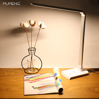MUMENG Table Lamp 10W 220V 340 Degrees Rotatable Design 4 Lighting Modes Dimmer Adjustable Touch Sensitive Control LED Lights