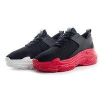 BORRUICE 2018 Spring Women Sneakers Black White Non Slip Sport Casual Ladies Shoes
