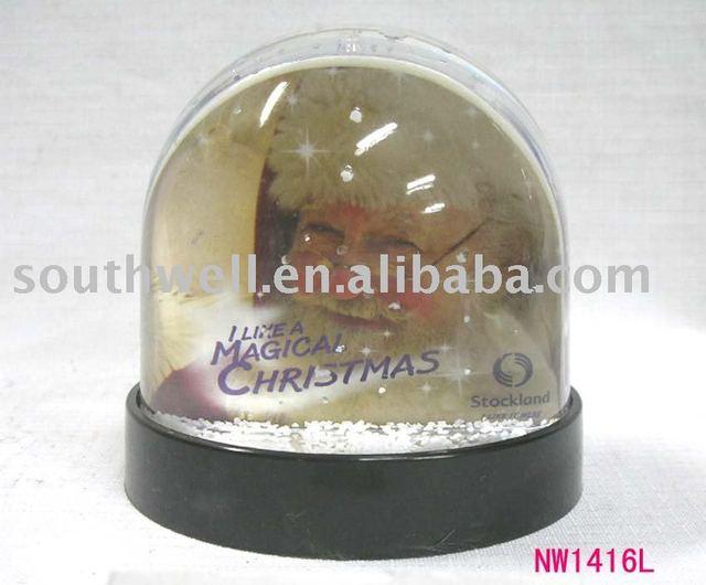 photo water globe-----------NW1416L