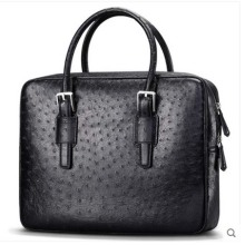 цены Cestbeau South Africa imported ostrich leather hand bag  genuine genuine leather with natural texture men bag business