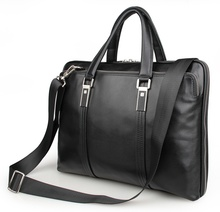 JMD Fashion Real Cow Leather Briefcase Top Handle Business Bag Men's Laptop Bag 7326A