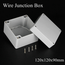 120x120x90mm Waterproof Housing Instrument Case ABS Plastic Project Box Storage Case Enclosure Electronic Boxes 120*120*90mm