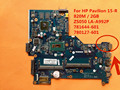 "Para HP Pavilion 15.6 ""i3-4030U 15-R 781644-601 780127-601 820 M/2 GB LA-A992P ZS050 Laptop Motherboard"