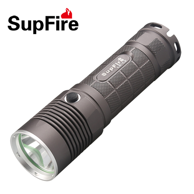 CREE XM-L2 U2 LED 5 Modes 1200 Lumens Handheld LED Flashlight Waterproof Outdoor LED Torch Lanterns Use 26650 or 18650 battery