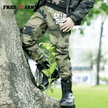 FREEARMY Teenage Boy Clothing Kids Camouflage Trousers Pants Boys Camo Military Big Size8 10 12 14 16