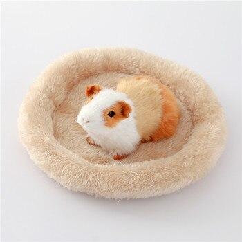 Criceto Nido Pad Caldo Velluto Pet Nido Arctic Cotone Cuscino Criceto Hedgehog Chinchilla Coniglio Pet Letto 5 Colori S/ L forniture per Animali Da Compagnia 1
