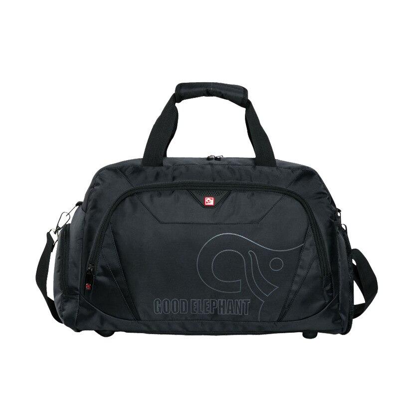 Quality Large Capacity Sports Gym Bag Men Women Fitness Bag Shoe Storage Basketball Sport Bag Outdoor Travel Shoulder Bag HAB511