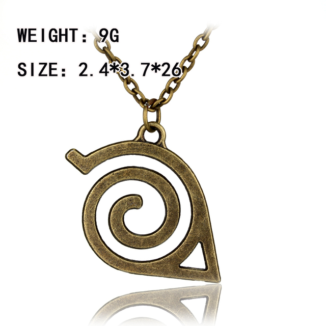 Hot Anime Naruto High Quality Cartoon Necklace