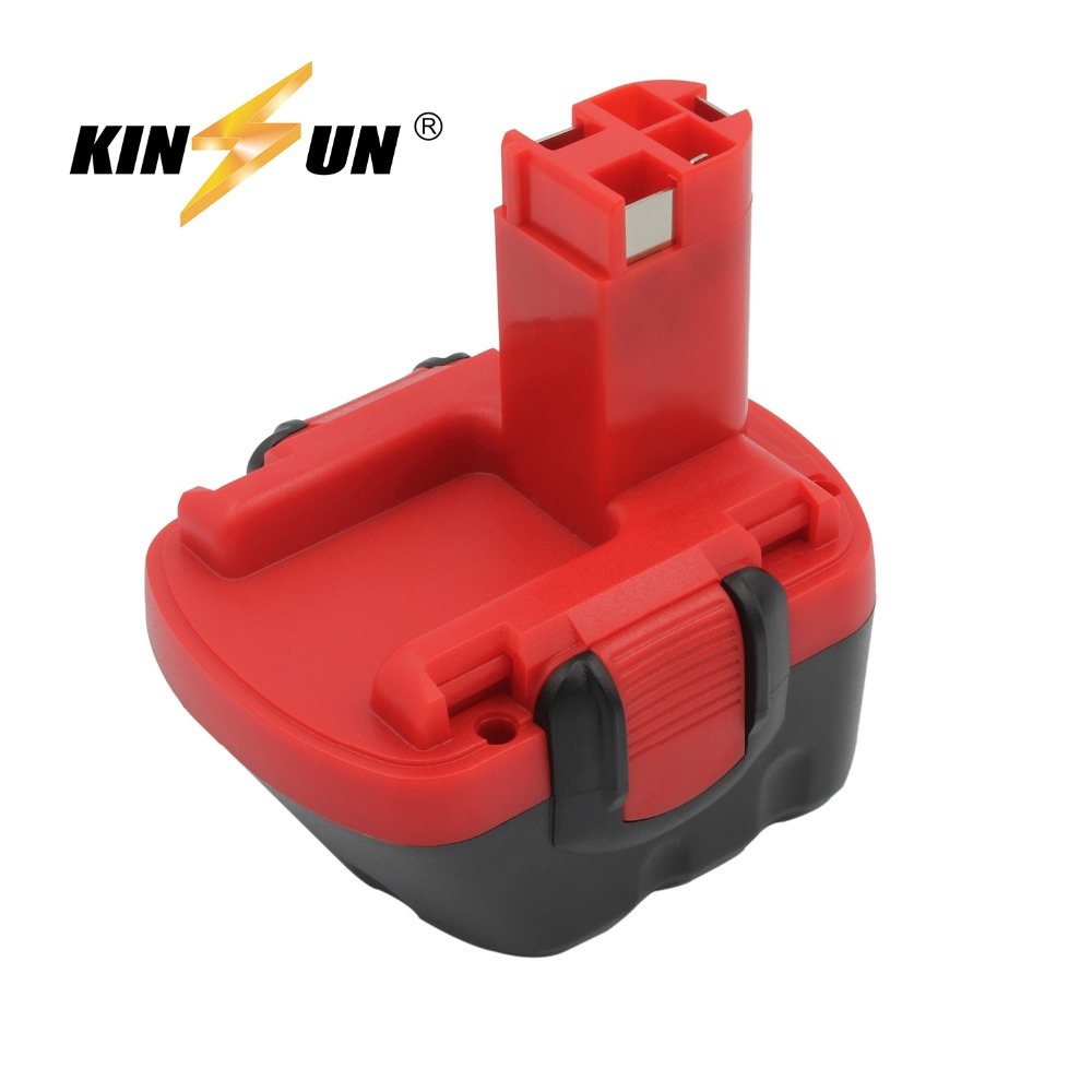 KINSUN Replacement Power Tool Battery 12V 3.0Ah Ni-Mh for Bosch Cordless Drill 2 607 335 273 GSB 12VE-2 PSB PSR 12VE