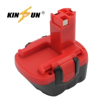 цена на KINSUN Replacement Power Tool Battery 12V 3.0Ah Ni-Mh for Bosch Cordless Drill 2 607 335 273 GSB 12VE-2 PSB 12VE-2 PSR 12VE