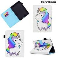 Horse Flamingo Magnet PU Tablet Case For Kindle Paperwhite 1 2 3 6 0 EReader Leather