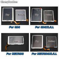 Pantalla LCD superior ChengHaoRan para Nintendo New 3DSXL LL para pantalla LCD 3DS XL 3DSLL inferior