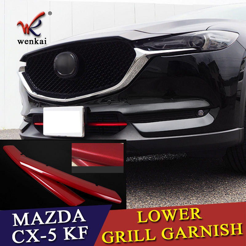 Front Bumper Molding Compatible with 2016-2018 Mazda CX-9 Chrome Driver Side