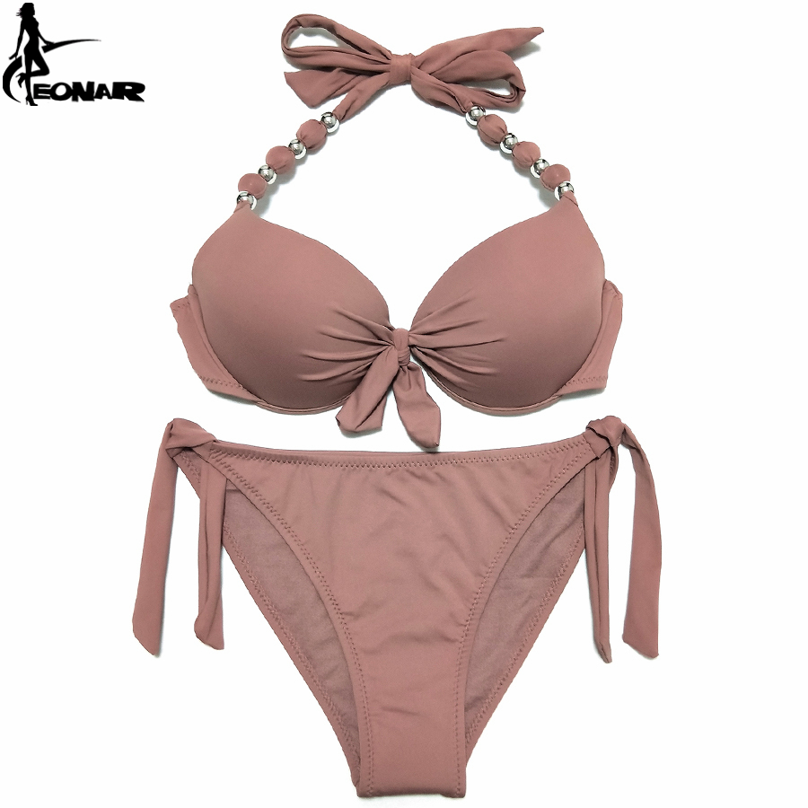 EONAR Bikini 19 Offer Combined Size Swimsuit Push Up Brazilian Bikini Set Bathing Suits Plus Size Swimwear Female XXL 20
