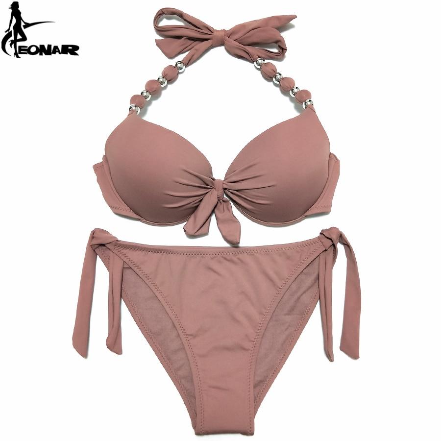 HTB1VzSeFaSWBuNjSsrbq6y0mVXaD EONAR Bikini 2019 Offer Combined Size Swimsuit Push Up Brazilian Bikini Set Bathing Suits Plus Size Swimwear Female XXL