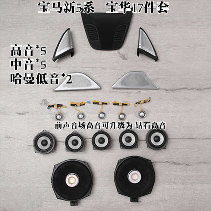 Applicable to BMW New 5 Series Baohua Audio 17 set
