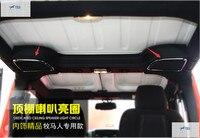 Yimaautotrims Interior For Jeep Wrangler 2015 Roof Tweeter Speaker Cover Trim