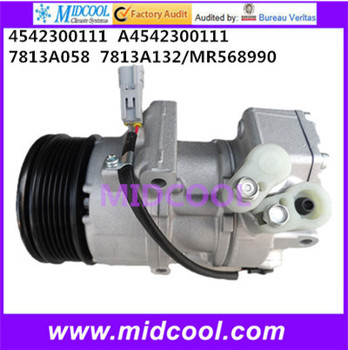 Wysokiej jakości auto AC sprężarka 5SEU09C do Mitsubishi 4542300111 A4542300111 7813A058 7813A132 MR568990