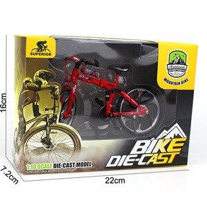 Image 5 - مقياس 1:10 معدنية مسبوكة دراجة نموذج المدينة مطوية دراجة الطريق لعبة لجمع