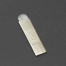 U Needle Blade Manual Tattoo Pen's Needle Blade Microblading Needle Blade Permanent Eyebrow Pen Needle Pcd U21