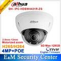 Оригинал Dahua 4MP IPC-HDBW4431R-ZS заменить IPC-HDBW4300R-Z IP 2.8 мм ~ 12 мм с переменным фокусным расстоянием моторизованный объектив камеры POE IPC-HDBW4431R-ZS