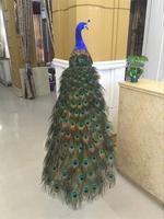 beautiful feathers simulation peacock model large 150cm peacock bird handicraft prop,home garden decoration gift p2042