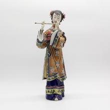 Ceramic Statue Figurine Sculpture Character ornaments female Piper  Figure Crafts