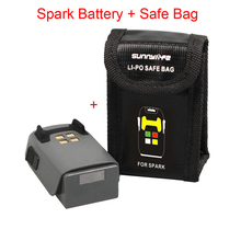 1PCS For DJI Spark Drone Intelligent Flight Battery & Spark Battery Safe Bag Futural Digital Drop Shipping JULL25
