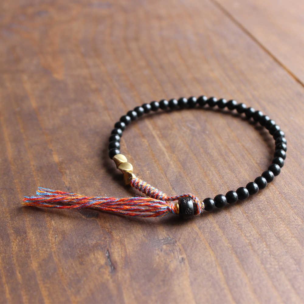 Coconut Shell Bracelet Double Wrap Brown Black Real Coconut Shell  Bracelet and a Magnetic Stainless Steel  Clasp