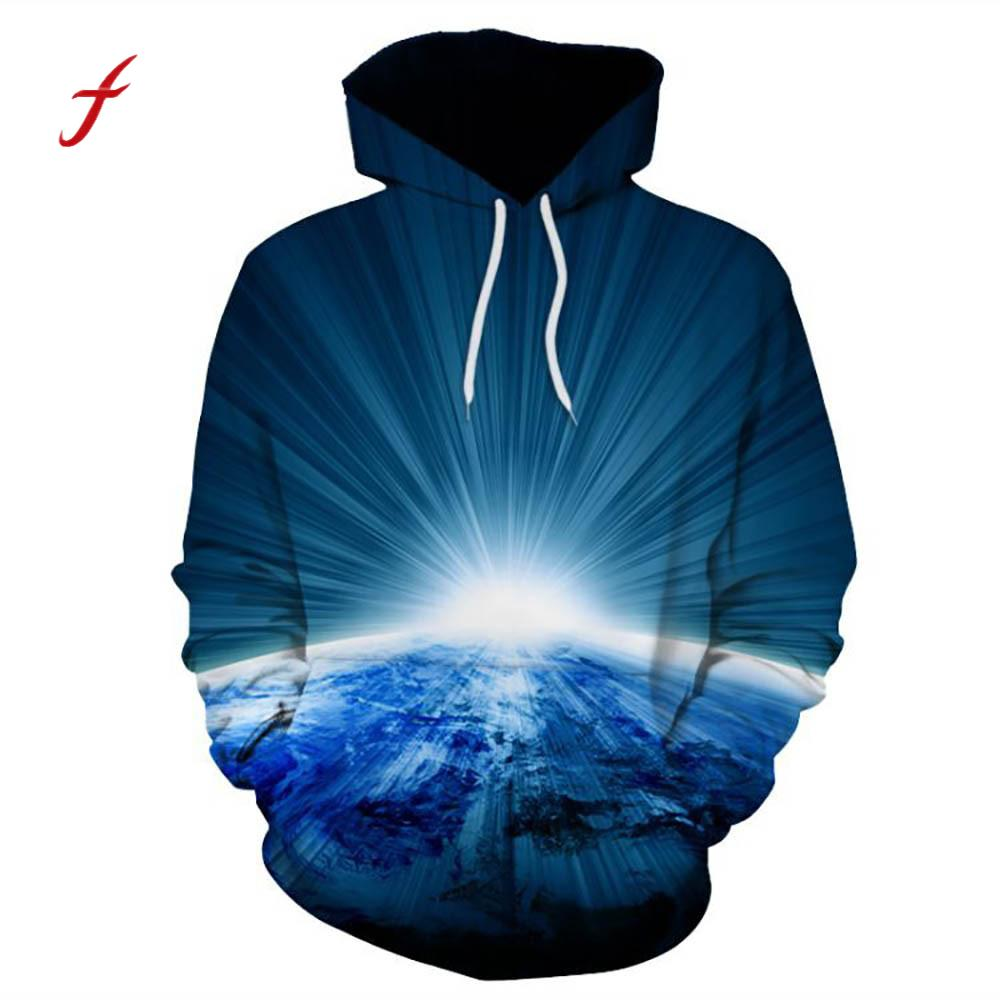 Unisex Couple 3D Realistic Cool Harajuku Pullover Hooded Sweatshirt Tops Women Men Plus Size Large Spring Fall Clothes Hoodies