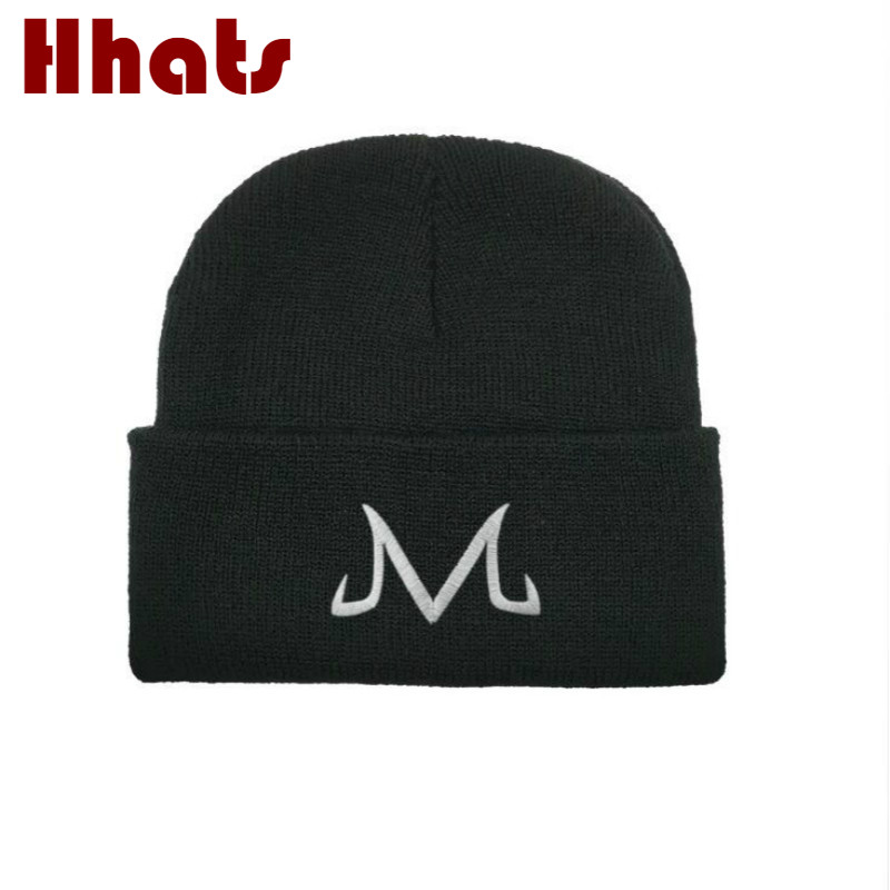 Brand Majin Buu   Skullies     Beanie   For Men Streetwear Hip Hop Winter Hat Autumn K Pop Women's Winter Knitted Hats Kpop Warm Cap