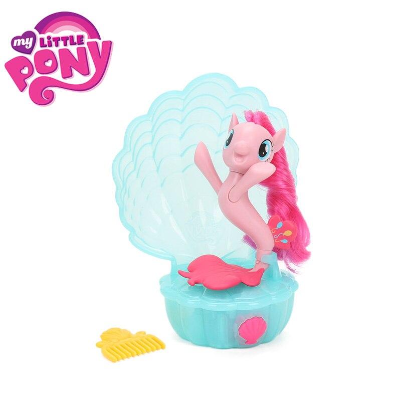 My Little Pony игрушки электронный Море песня Пинки Пай принцессы skyster ПВХ фигурку Дружба Магия Colletion модель куклы