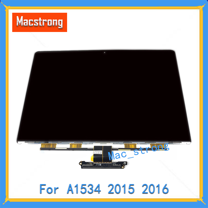 Tested Original 12 A1534 LCD Screen Glass For MacBook Retina Laptop LCD LED A1534 Display Panel 2015 2016 2017