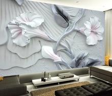 3D dekoracji kwiatowy ulgę
