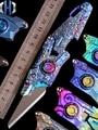 FS Coltelli Utility E03 In Lega di Titanio Pieghevole TC4 Taglierina di Carta Lettera Aperta Coltello Carta Da Parati Coltello Aperto Scatola di Heavy Duty Coltelli Utility