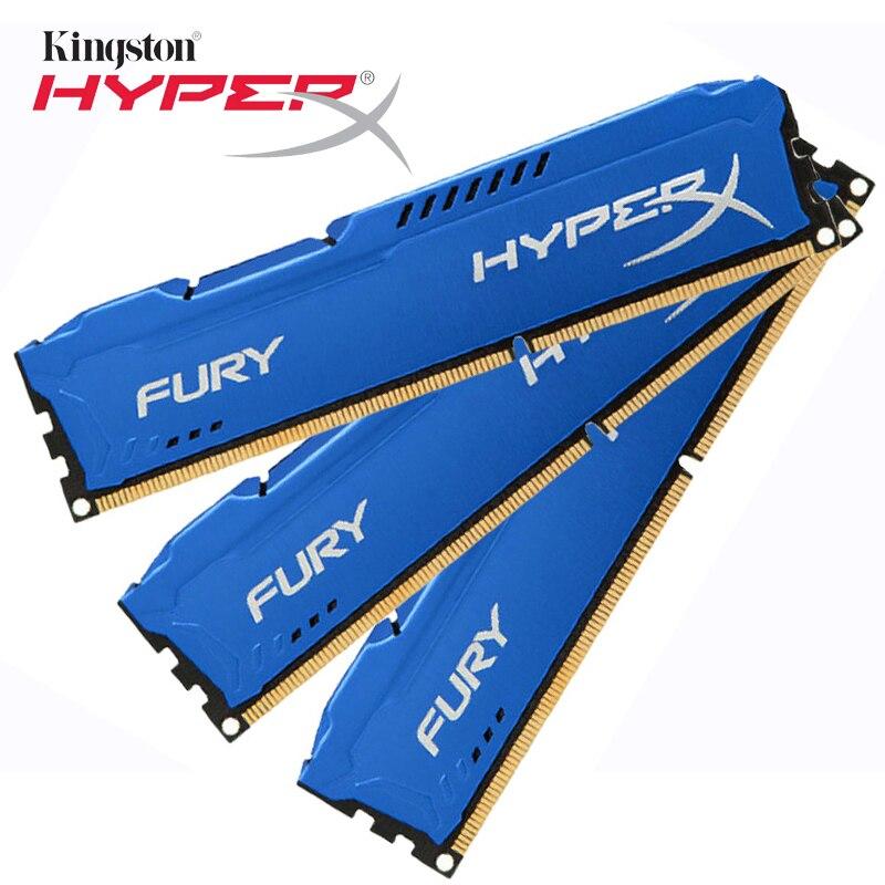 Kingston HyperX DDR3 4 GB FUREUR Mémoire 4 gb ddr3 ram 1866 mhz CL10 DDR3 Memoria Pour ordinateur de Bureau PC Playerunknown champs de bataille de Gaming